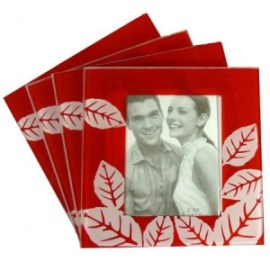 Posavasos con foto para bodas