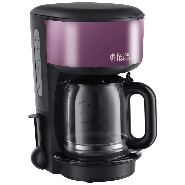 Cafetiera Russell Hobbs Purple Passion 20133-56, 1000 W, 1.25l, 10 cesti