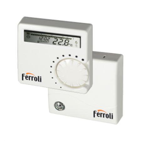 Termostat digital programabil wireless Ferroli FER 9