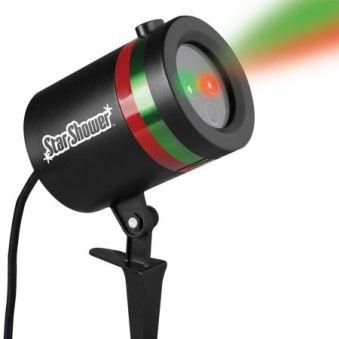 Star Shower, proiectie lumini laser, efect 3D holografic, exterior si interior