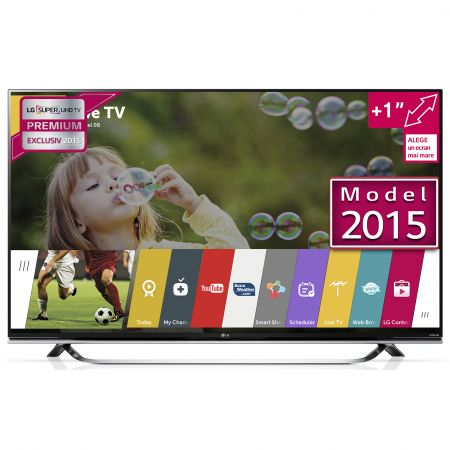 Televizor Super UHD, Smart 3D LED LG, 123 cm, 49UF8507, 4K Ultra HD