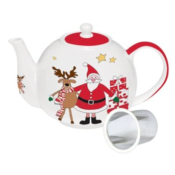 "Ceainic 1 l cu infuzor ""Santa and Friends"" - Nuova R2S"