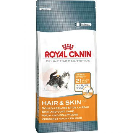 Hrana uscata pentru pisici, Royal Canin, Hair & Skin 33, 10 Kg