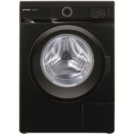 Masina de spalat rufe Gorenje Simplicity WS62SY2B SLIM, 6 kg, 1200 RPM, Clasa A-30%, Negru