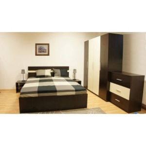 Dormitor Salonic Wenge Crem