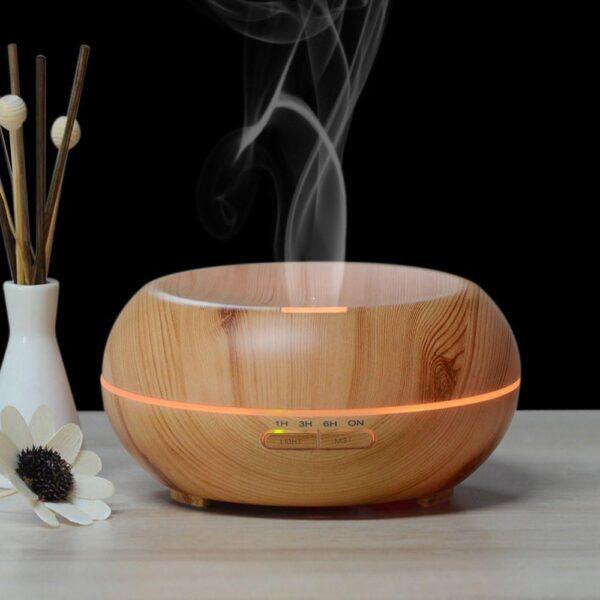 difuzor aroma aromaterapie cu temporizator
