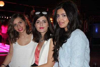 With Maya Shokr from Playing with Fashion and Hiba from Cloud of Lace