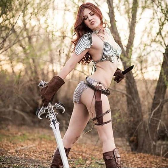 Cosplay Red Sonja 03