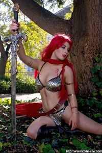 Cosplay Red Sonja 07
