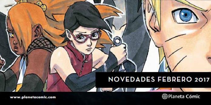 Novedades Planeta Comic Febrero 2017
