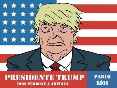 Presidente Trump Pablo Rios portada