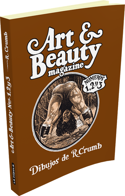 Art & Beauty Magazine Números 1, 2 y 3, de Robert Crumb (Reseña)