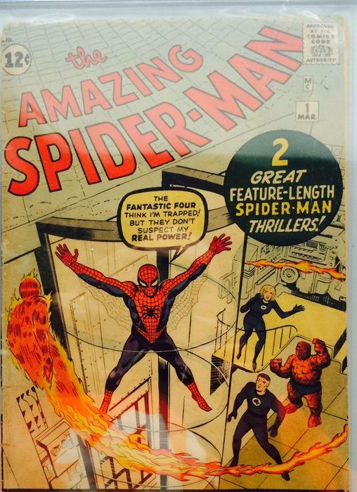 amazing spiderman 1