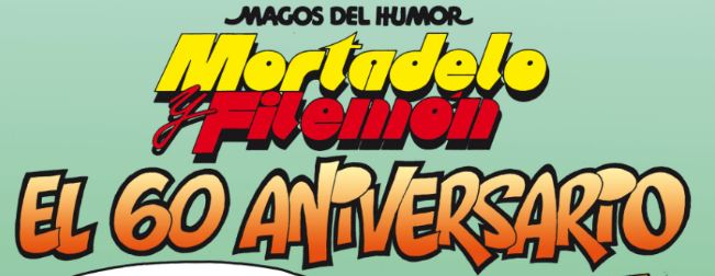 mortadelo filemon 60 aniversario