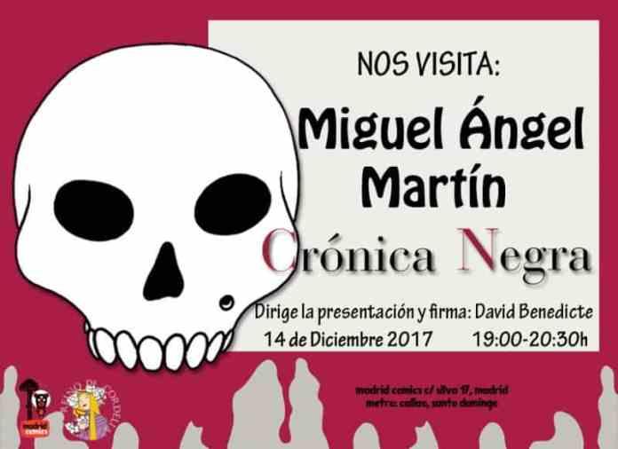 Miguel Ángel Martín firmará en Madrid Cómics