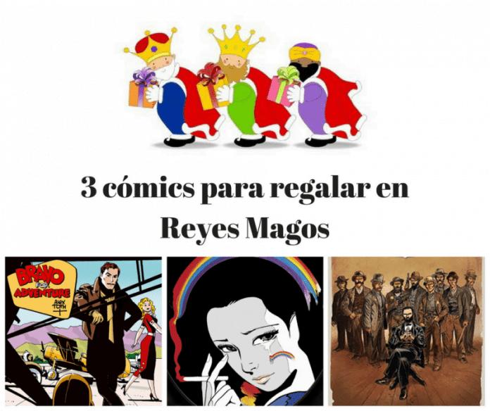 3 cómics recomendados para regalar en Reyes Magos