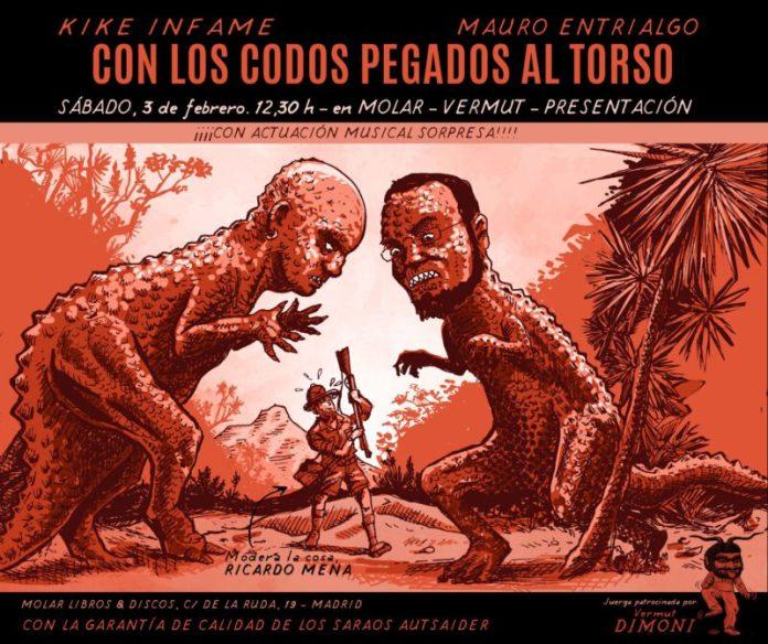 Presentación de «Con los codos pegados al torso» en Madrid