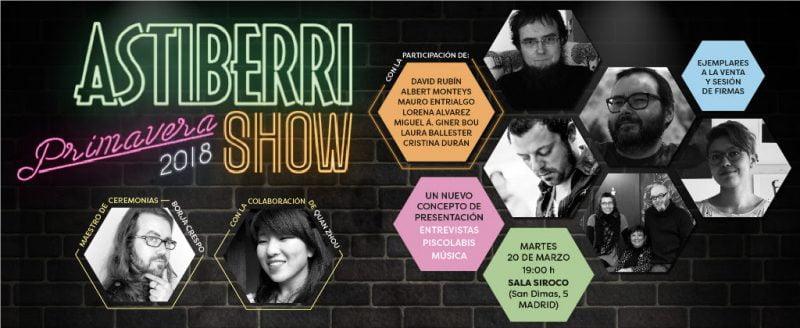 Astiberri Show Primavera 2018