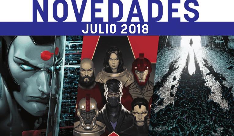 medusa comics novedades julio 2018