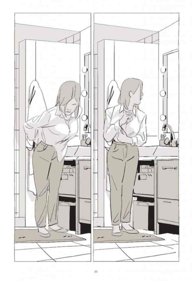 la blusa interior