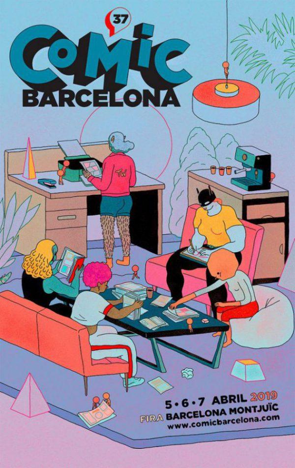 Ahora el Salón del Cómic de Barcelona se llama CÓMIC Barcelona