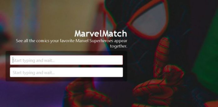 ¿Quieres saber en qué cómics aparecen juntos personajes Marvel? MarvelMatch