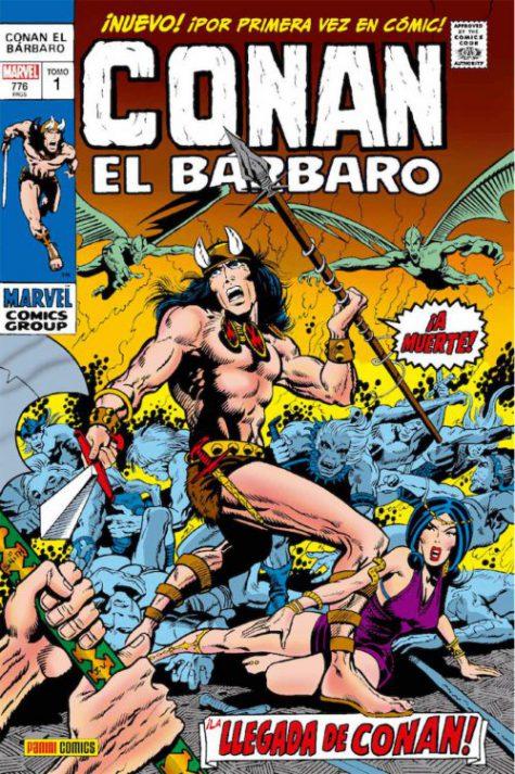 #reseñamos Conan El Bárbaro. La Etapa Marvel original. Volumen 1