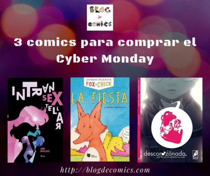 #recomendamos 3 cómics para comprar el Cyber Monday
