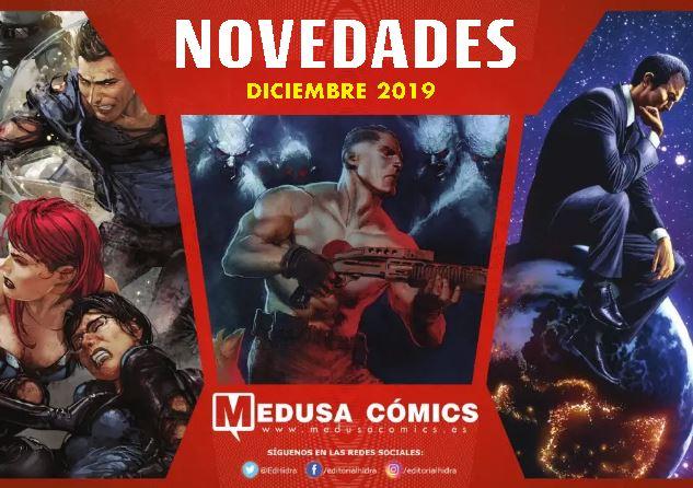 Novedades de Medusa Cómics para Diciembre de 2019