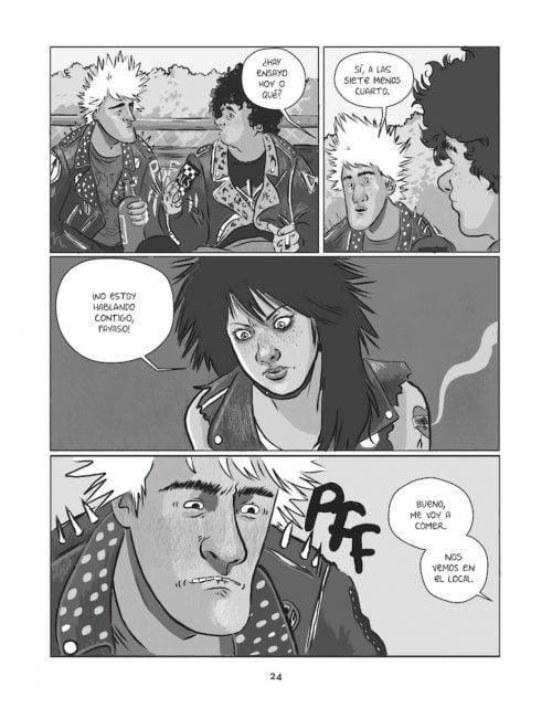 rompepistas comic