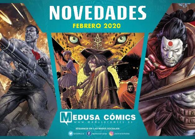 Novedades de Medusa Cómics para Febrero de 2020