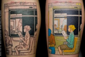 tatuaje adrian tomine