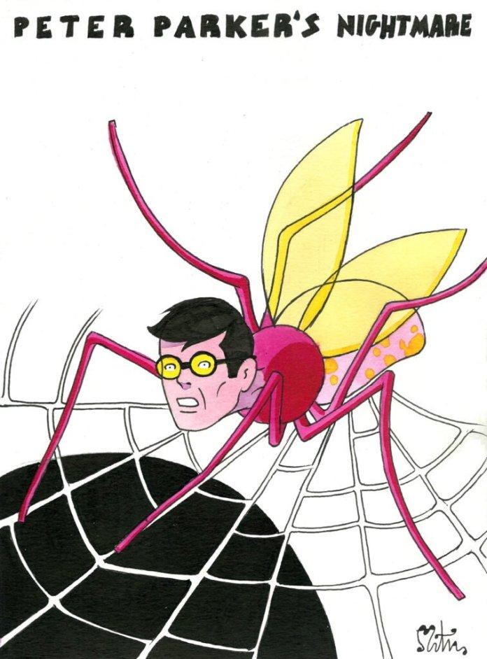 La otra cara de los superheroes 01 Peter Parker