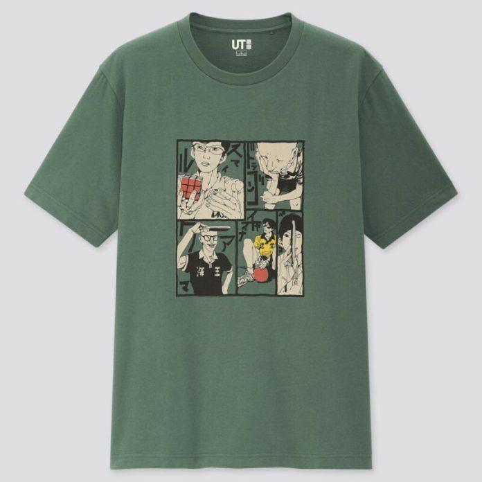 Camiseta Manga Uniqlo Ping Pong