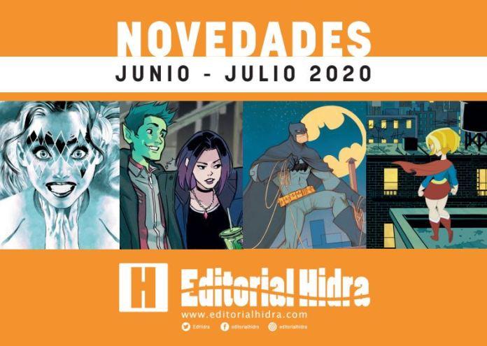 Novedades Editorial Hidra Julio 2020