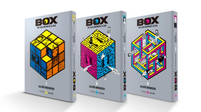 BOX de Daijiro Morohoshi a la venta el 26 de octubre