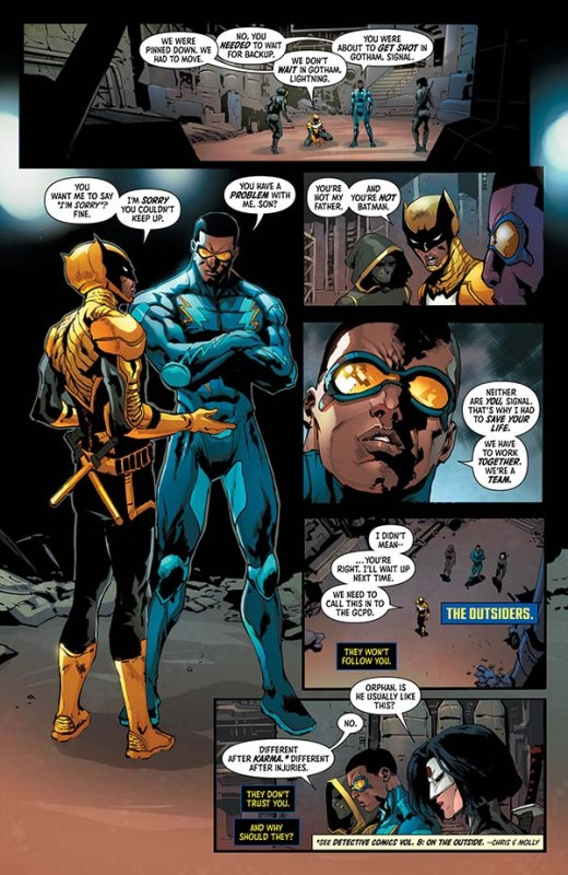 batman y outsiders