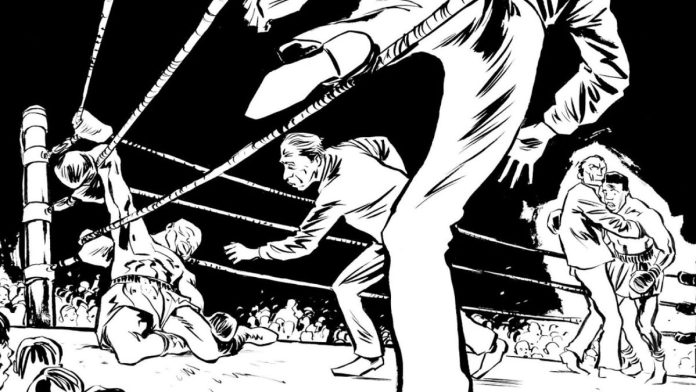 Knock Out Boxeo comic