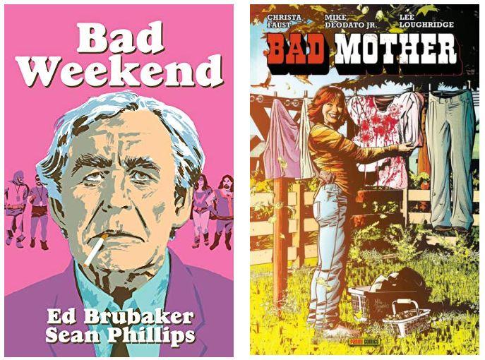 Serie negra con un toque especial: «Bad Weekend» y «Bad Mother»