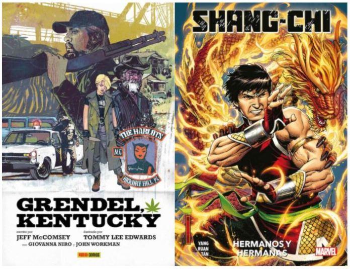 Comics a pares: «Shang-Chi» y «Grendel, Kentucky»