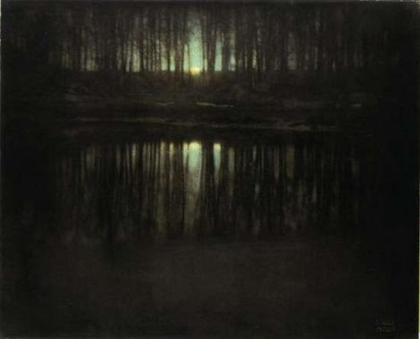 "Cele mai scumpe fotografii - ""The Pond-Moonlight"" de Edward Steichen"