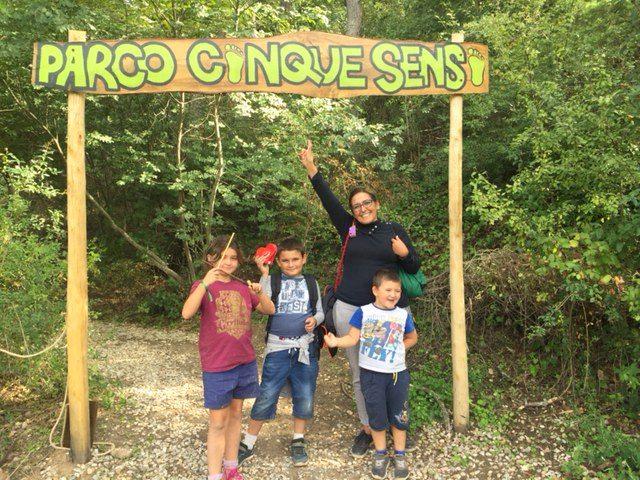 Giocare con Harry Potter al Parco dei Cinque Sensi di Vitorchiano
