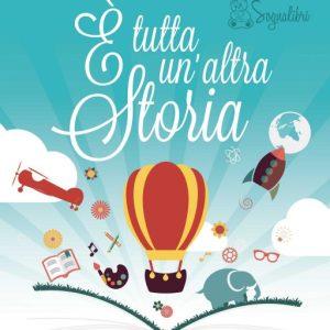 Leggere E' TUTTA UN'ALTRA STORIA al I festival per bambini a Ostia (30.09/01.10)