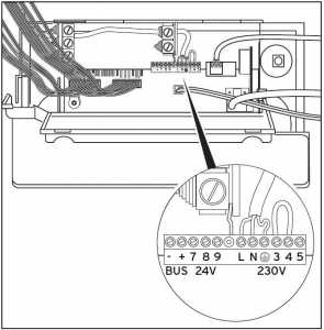 Schema montaj termostat de ambianta la centrala termica Vaillant