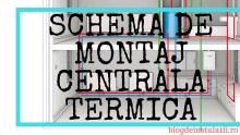 Schema de Montaj Centrala Termica pe Gaz sau pe lemne