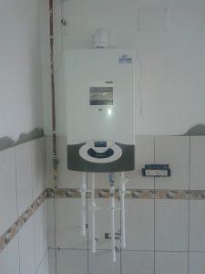 schema de montaj centrala pe gaz