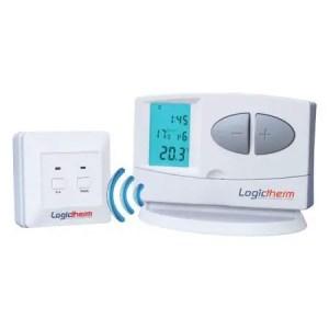 Termostat digital wireless programabil LOGICTHERM C7RF pentru controlul temperaturii ambientale.