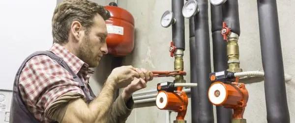 montare pompa recirculare grundfos
