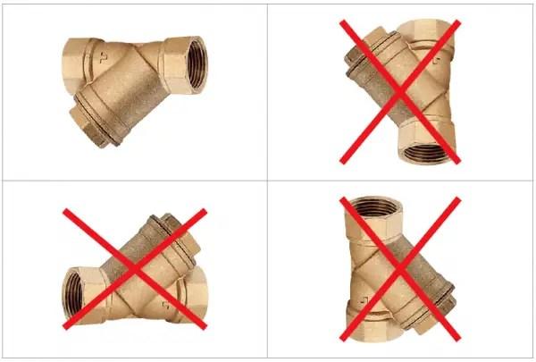 schema de montaj filtru y ce rol are filtru y la montaj centrala termica blogdeinstalatii.ro
