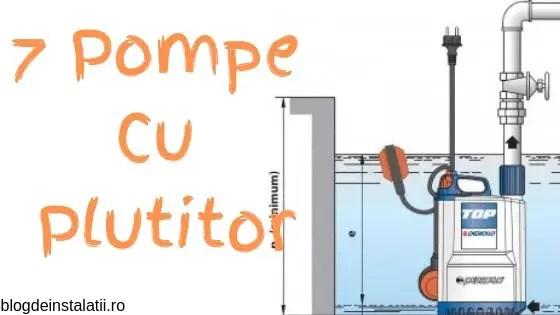 Pompa cu Plutitor - 7 Cele Mai Bune Pompe Submersibile Ieftine blogdeinstalatii.ro